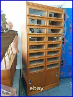 1950s Shop Haberdashery Cabinet/Drawers. Vintage/Retro/Mid Century/Shop Fitting
