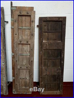 Antique Old Vintage Primitive Rustic Barn Doors Panels Shutters Farmhouse Style