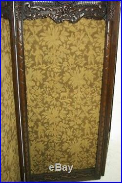 Antique Room Divider, Privacy Screen, Vintage Partition, England 1890, B999