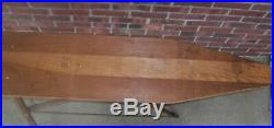 Antique Vintage Wooden Ironing Board