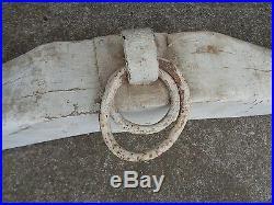 Antique Wooden Ox Yoke Vintage Farm Tool / Barn Cowboy Western Decor