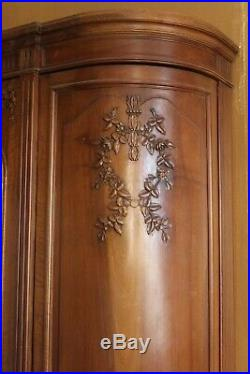Beautiful French Vintage/Antique Louis XV Style Armoire French Country Chic