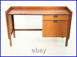 British Meredew Teak Desk Mid Century Vintage, 1960s