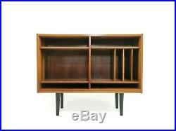 Danish Mid Century Hundevad Rosewood Bookcase Vintage Shelving Unit 1960s 70s