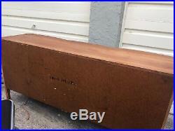Dixie Furniture Vintage Wood French Provincial Triple Dresser 880-5