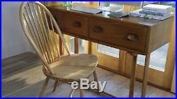 Ercol Dressing table / Desk. Mint. Retro. Vintage. Beautiful Elm wood. 1960's