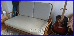 Ercol Two Seater Sofa Vintage Mid Century