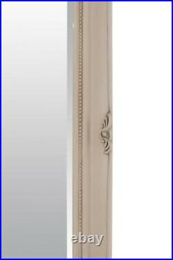 Extra Large Wall Mirror Ivory Antique Vintage Full Length 5Ft7x3Ft7 170 X 109cm