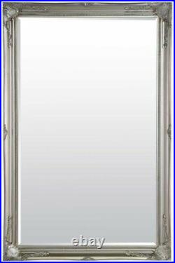 Extra Large Wall Mirror Silver Antique Vintage Full Length 5Ft7x3Ft7 170 X 109cm