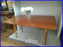 G Plan Retro Dining Table E Gomme Vintage Drop Leaf Extending Teak Refurbished