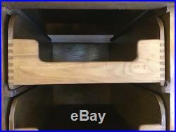 Haberdashery cabinet/shop fitting cabinet/vintage wood storage/Draper draws