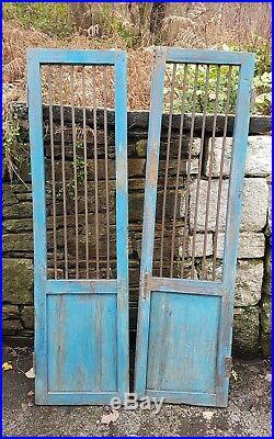 Industrial Vintage Antique Window Wooden Shutters Doors Wardrobe Reclaimed door