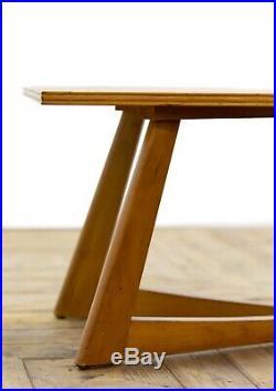 Mid 20th Century Modern Retro Vintage Teak Coffee Table Possibly Danish