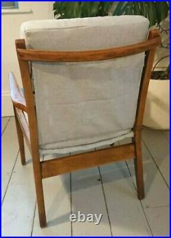 Mid Century Retro Vintage Cintique Arm Chair Lounge Danish Style