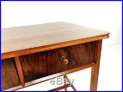 Mid Century Vintage 1960s Walnut Console Writing Desk by Vanson
