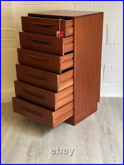 Midcentury G Plan Chest of Drawers Fresco Vintage Tall Boy (delivery available)
