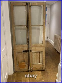 Pair of Vintage Reclaimed french Doors