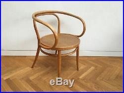 Rare 1920 vintage Horgen Glarus Corbusier bentwood armchair Swiss Thonet 209 B9