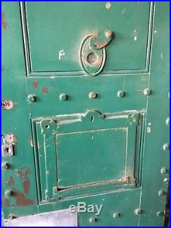 Reclaimed Vintage Old Victorian Police Jail Prison Cell Door