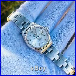 Rolex Datejust 6917 14K White Gold SS 26mm Serviced and Restored 26MM Ladies