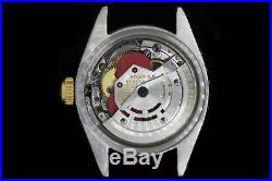 Rolex Ladies Datejust Oyster Diamond Dial Bezel Watch