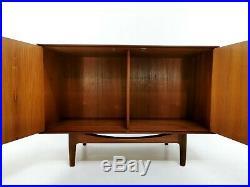 Teak Mid Century Cabinet 60s Vintage Danish Design Compact Sideboard