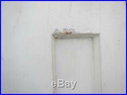 VINTAGE WOODEN FRENCH WINDOW SHUTTERS Bi Folding PAIR 233cm tall RECLAIMED
