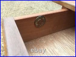 Vintage 1950's Lebus Light Oak Dressing Table