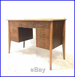 Vintage Danish Era Mid Century 1960s Walnut WHITE & NEWTON Heals Writing Desk