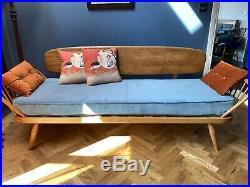 Vintage Ercol Day Bed Studio Couch Sofa, Retro Sofa