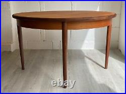 Vintage G Plan Table Round Extending Midcentury Retro Teak (delivery available)