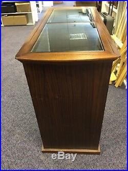 Vintage Haberdashery Shop Counter, Display Cabinet, Used Shop Counter, Display