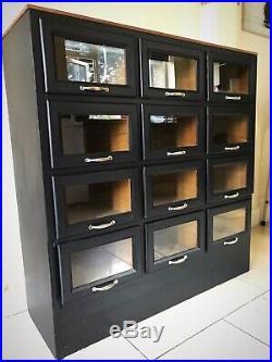 Vintage Haberdashery Shop Drawer Cabinet Shop Fitting Display Sideboard Dresser