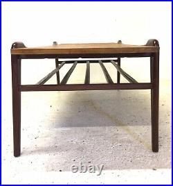 Vintage Retro Mid Century 1960s Danish Modernist Teak Modernist Coffee Table