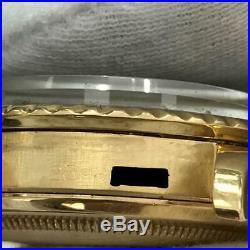Vintage Rolex Submariner 1680 Matte Nipple Dial 2 Mil 18K Yellow Gold Rare 1967