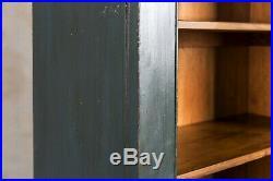 Vintage School Cupboard Painted Wooden Pantry
