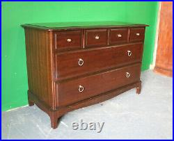 Vintage Stag Minstrel Chest of Drawers, Lowboy, Sideboard, Retro, Antique Style