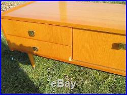 Vintage Vanity Dresser Bedroom Cabinet Mid Century Modern Marked Sicame