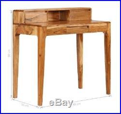 Vintage Writing Desk Office Computer Bureau Table Furniture Rustic Antique Style