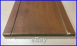 Vtg Gold Ladderax Teak Shelving Bookcase Mid Century Danish Divide Vinyl Heals A