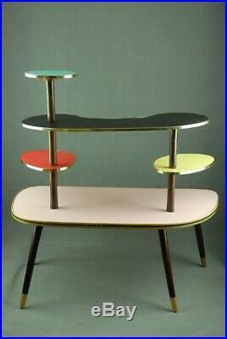 XL 1950s PLANTSTAND Mid Century Danish Modern Plant Stand Vintage Eames 60s 70s